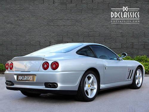 1997 Ferrari 550 Maranello (RHD) SOLD (picture 2 of 6)