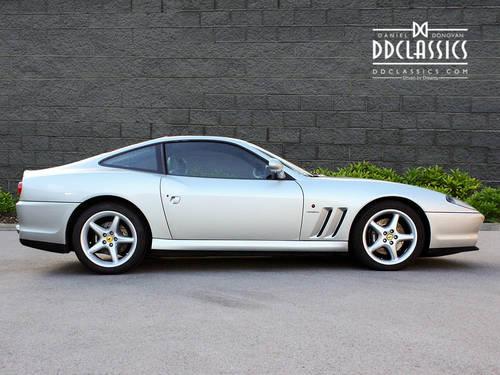 1997 Ferrari 550 Maranello (RHD) SOLD (picture 3 of 6)