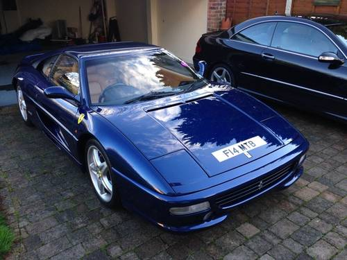 1999 Fantastic 355 GTS F1 in the Rare TDF Blue/Tan leather, FFSH For Sale (picture 2 of 6)