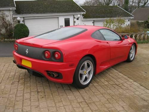 2004 Ferrari 360 3.6 Coupe Modena F1 LHD  For Sale (picture 4 of 6)