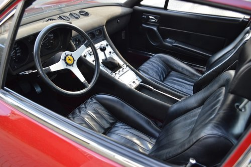 1972 Ferrari 365 GTC 4 ONLY 20.000 KMS !! For Sale (picture 3 of 6)