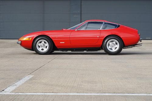 1972 Ferrari 365 GTB/4 Daytona RHD--Ex Elton John-- For Sale (picture 1 of 6)