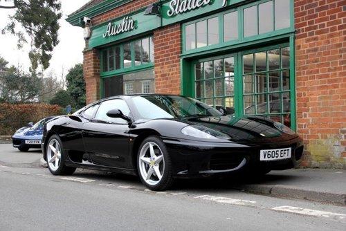 1999 Ferrari 360 Coupe F1 SOLD (picture 2 of 5)