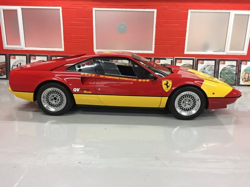 1976 Ferrari 308 GTB VETROSINA 1 Race car and 1 Road car like new For Sale (picture 1 of 6)