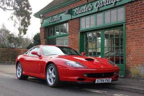 1998 Ferrari 550 Maranello Coupe Manual  LHD  SOLD (picture 2 of 4)