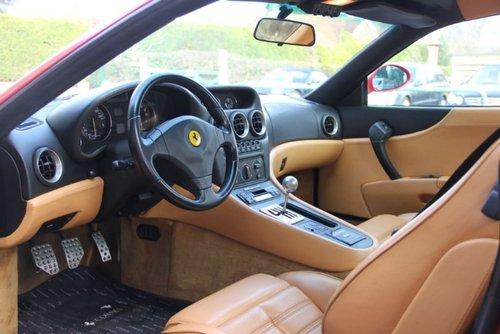 1998 Ferrari 550 Maranello Coupe Manual  LHD  SOLD (picture 4 of 4)