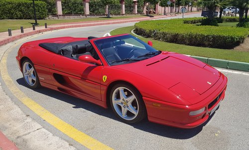 1996 FERRARI F355 SPIDER MANUAL - OUTSTANDING CONDITION For Sale (picture 2 of 6)