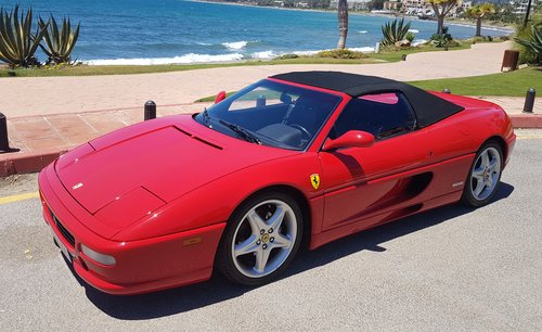 1996 FERRARI F355 SPIDER MANUAL - OUTSTANDING CONDITION For Sale (picture 3 of 6)