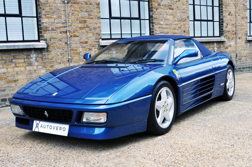 1995 Ferrari 348 Spider UK, RHD, Low miles For Sale (picture 1 of 6)