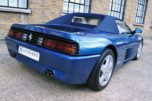 1995 Ferrari 348 Spider UK, RHD, Low miles For Sale (picture 2 of 6)