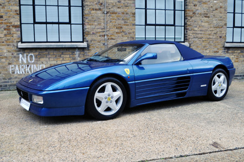 1995 Ferrari 348 Spider UK, RHD, Low miles For Sale (picture 4 of 6)