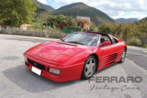 1991 Ferrari 348 TS SOLD (picture 1 of 6)