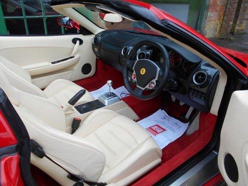 2005 Ferrari F430 Spider Manual  SOLD (picture 4 of 4)