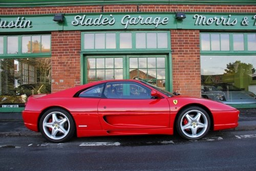 1998 Ferrari 355 GTB Manual Coupe  SOLD (picture 1 of 4)