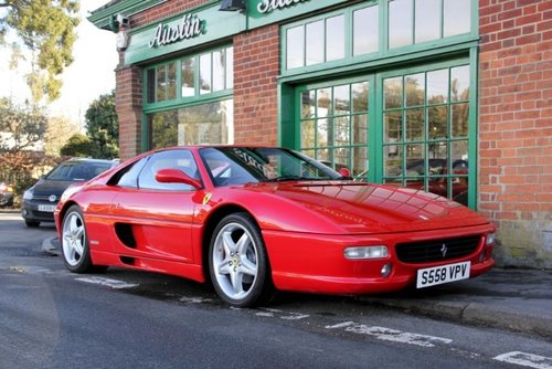 1998 Ferrari 355 GTB Manual Coupe  SOLD (picture 2 of 4)
