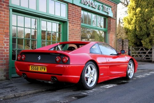 1998 Ferrari 355 GTB Manual Coupe  SOLD (picture 3 of 4)
