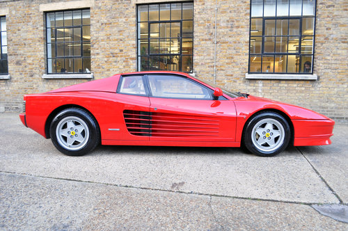 1990 Ferrari Testarossa, UK RHD, stunning original condition For Sale (picture 2 of 6)