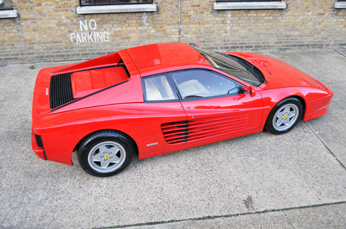 1990 Ferrari Testarossa, UK RHD, stunning original condition For Sale (picture 4 of 6)