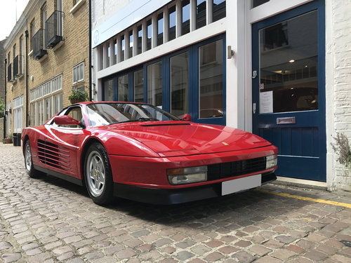 1991 Ferrari Testa Rossa - 25.500 miles only SOLD (picture 1 of 6)