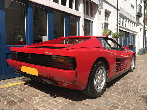 1991 Ferrari Testa Rossa - 25.500 miles only SOLD (picture 4 of 6)