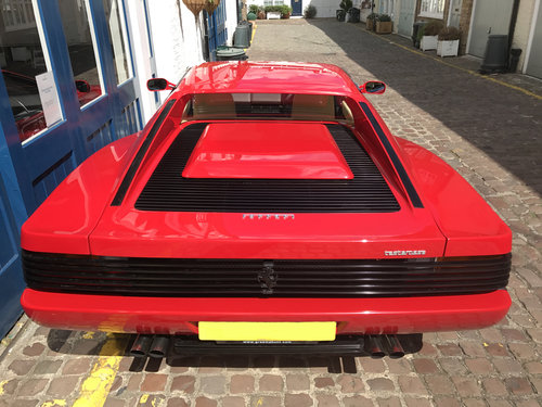 1991 Ferrari Testa Rossa - 25.500 miles only SOLD (picture 5 of 6)