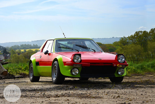 1974 Fiat X1/9 Group 4 Rally Coupe For Sale (picture 1 of 6)