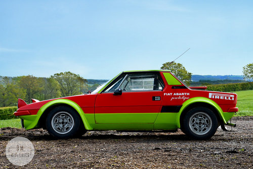 1974 Fiat X1/9 Group 4 Rally Coupe For Sale (picture 3 of 6)