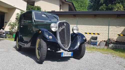 1935 conserved fiat Balilla For Sale (picture 1 of 6)