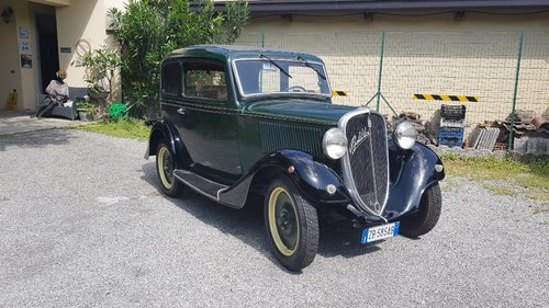 1935 conserved fiat Balilla For Sale (picture 3 of 6)