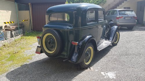 1935 conserved fiat Balilla For Sale (picture 4 of 6)