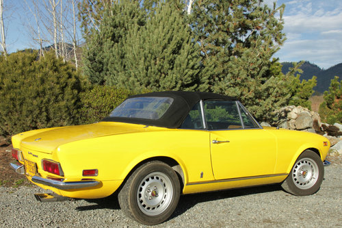 1971 Fiat 124 Spider For Sale (picture 2 of 6)
