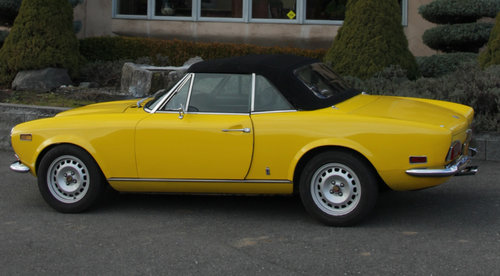 1971 Fiat 124 Spider For Sale (picture 3 of 6)