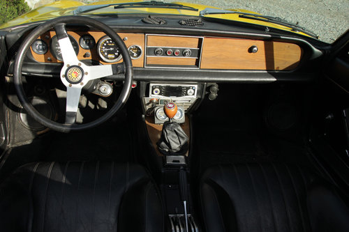 1971 Fiat 124 Spider For Sale (picture 5 of 6)
