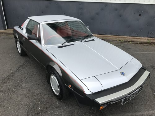 1984 Fiat X1/9 Bertone - mega low miles and one familyj from new For Sale (picture 1 of 6)