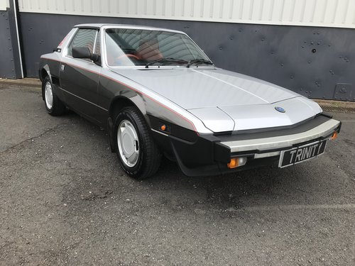 1984 Fiat X1/9 Bertone - mega low miles and one familyj from new For Sale (picture 2 of 6)