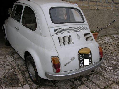1966 Fiat 500F mod 66, opriginal 9808km SOLD (picture 2 of 6)