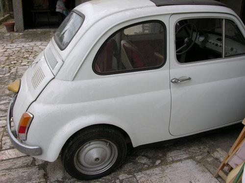 1966 Fiat 500F mod 66, opriginal 9808km SOLD (picture 3 of 6)