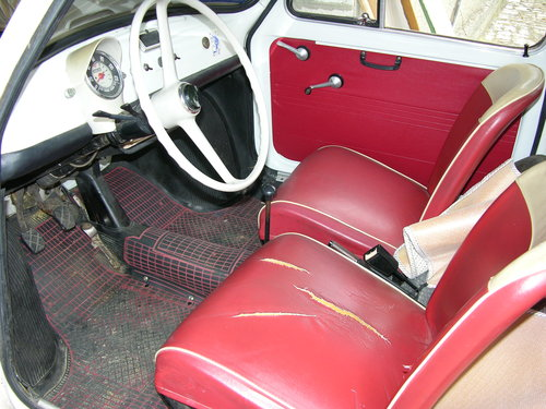 1966 Fiat 500F mod 66, opriginal 9808km SOLD (picture 4 of 6)