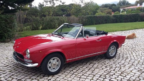 1972 Fiat 124 Spider In great condition For Sale (picture 1 of 6)