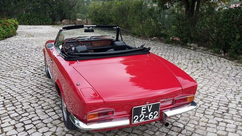 1972 Fiat 124 Spider In great condition For Sale (picture 2 of 6)
