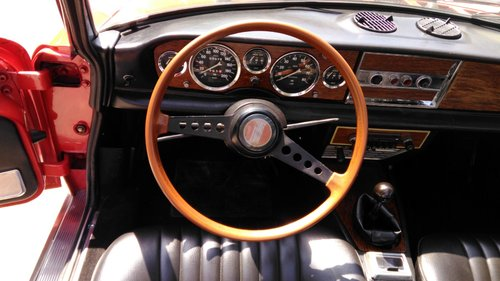 1972 Fiat 124 Spider In great condition For Sale (picture 5 of 6)