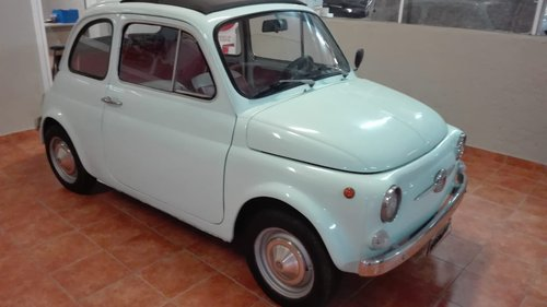 Fiat 500 F model 1965 SOLD (picture 2 of 6)