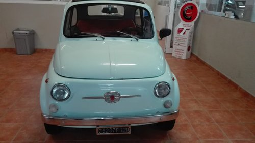 Fiat 500 F model 1965 SOLD (picture 4 of 6)