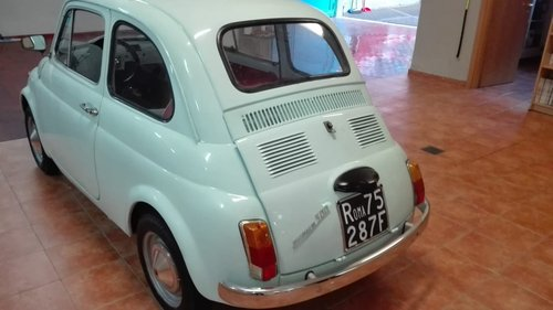 Fiat 500 F model 1965 SOLD (picture 5 of 6)