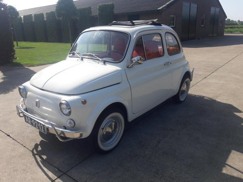 FIAT 500 L 1970 WHITE PERFECT CONDITION RESTORED SOLD (picture 1 of 6)