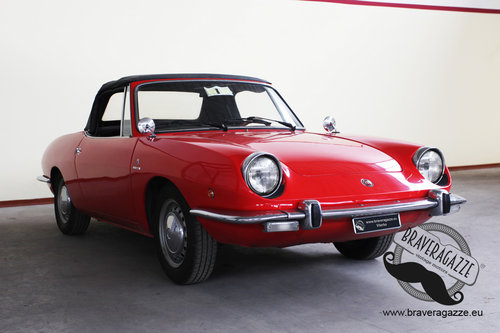 1968 Excellent small classic Italian spider For Sale (picture 1 of 6)