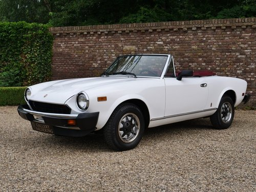1980 Fiat 124 Sport Spider 2000 only 29.000 miles!! For Sale (picture 1 of 6)