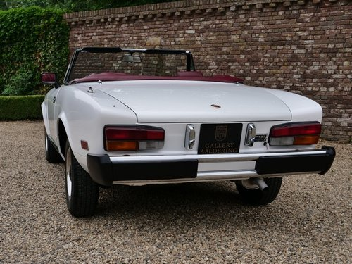 1980 Fiat 124 Sport Spider 2000 only 29.000 miles!! For Sale (picture 6 of 6)