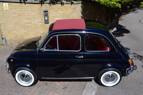 1969 Fiat 500L Rare Colour Combo For Sale (picture 3 of 6)