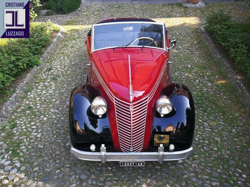 "1947 FIAT 1100 ""STELLA ALPINA CABRIOLET"" MONVISO 1000 miglia For Sale (picture 1 of 6)"